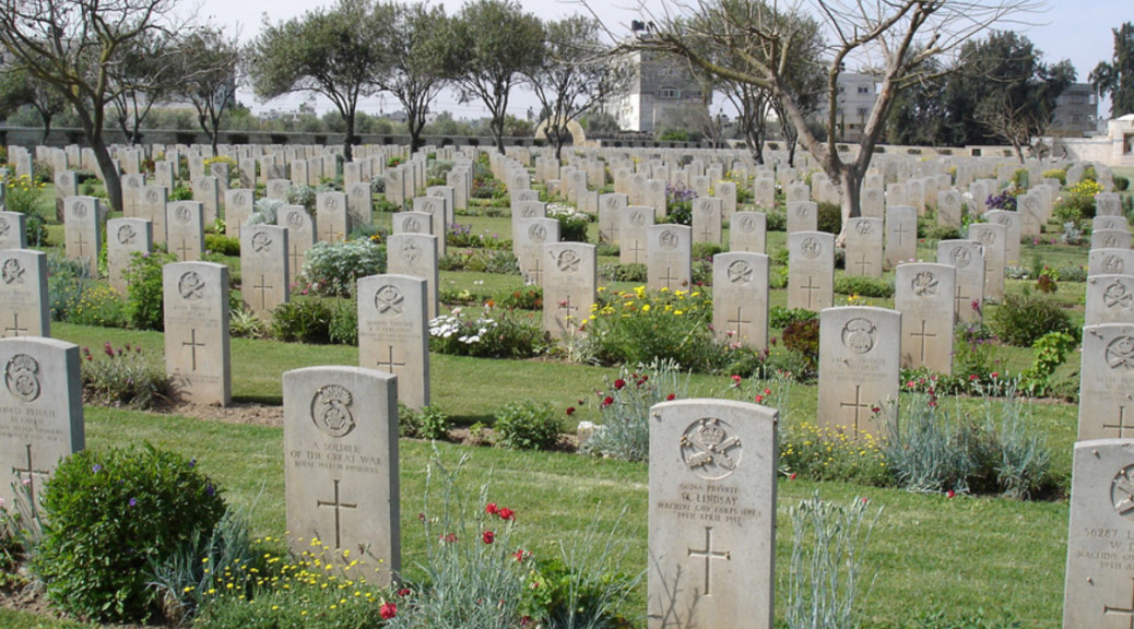 WW2 Diggers War Graves Gaza