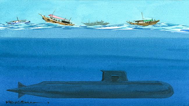 Twelve new submarines planned.