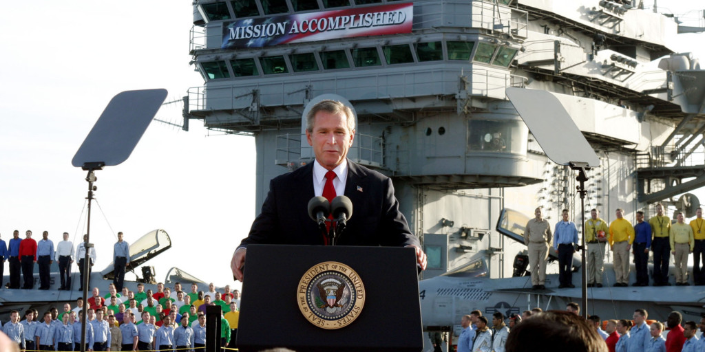 Victory Speech, President Bush.
