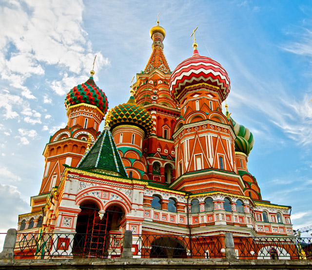St. Basil's Cathedral, Moscow.. (Europeisha)