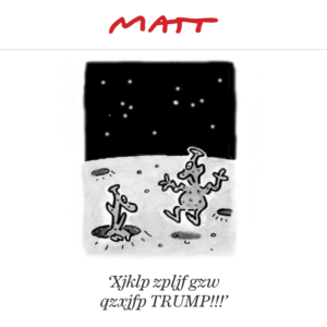 American Election. News Travels Fast.  (MATT)